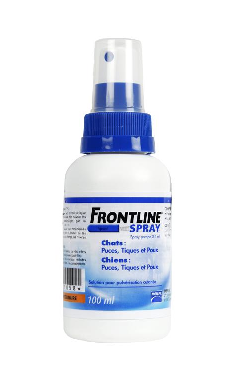 Frontline spray 100 ml - antiparazitar  pentru caini si pisici.