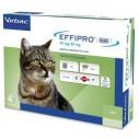 EFFIPRO DUO pisici - 4 pipete antiparazitare