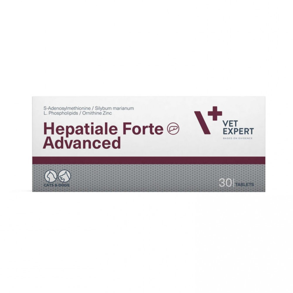 VetExpert Hepatiale Forte Advanced - 30 cp