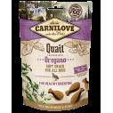 Carnilove Quail with Oregano - recompense semi-umede cu prepelita si oregano pentru caini - 200 g