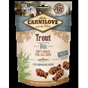 Carnilove Trout with Dill - recompense semi-umede cu pastrav si marar pentru caini - 200 g