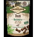 Carnilove Duck with Rosemary - recompense semi-umede cu rata si rozmarin pentru caini - 200 g