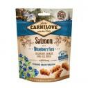 Carnilove Salmon with Blueberries - recompense crocante cu somon si afine pentru caini - 200 g