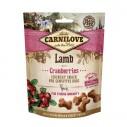 Carnilove Lamb with Cranberries - recompense crocante cu miel si merisoare pentru caini - 200 g