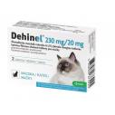 Dehinel cat, antiparazitar intern pentru pisici - 2 cp