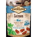 Carnilove Cat Duck with Raspberries - recompense crocante pentru pisici - 50 g