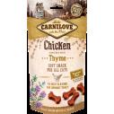Carnilove Cat Chicken with Thyme - recompense semi-umede pentru pisici - 50 g
