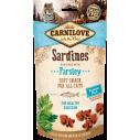 Carnilove Cat Sardine with Parsley - recompense semi-umede pentru pisici - 50 g