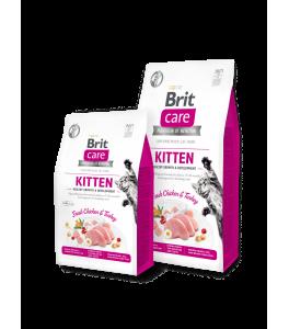 Brit Care Cat Grain-Free KITTEN HEALTHY GROWTH AND DEVELOPMENT - 400 g