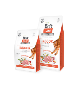 Brit Care Cat Grain-Free INDOOR ANTI-STRESS - 2 kg