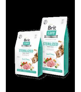 Brit Care Cat Grain-Free STERILIZED URINARY HEALTH - 400 g