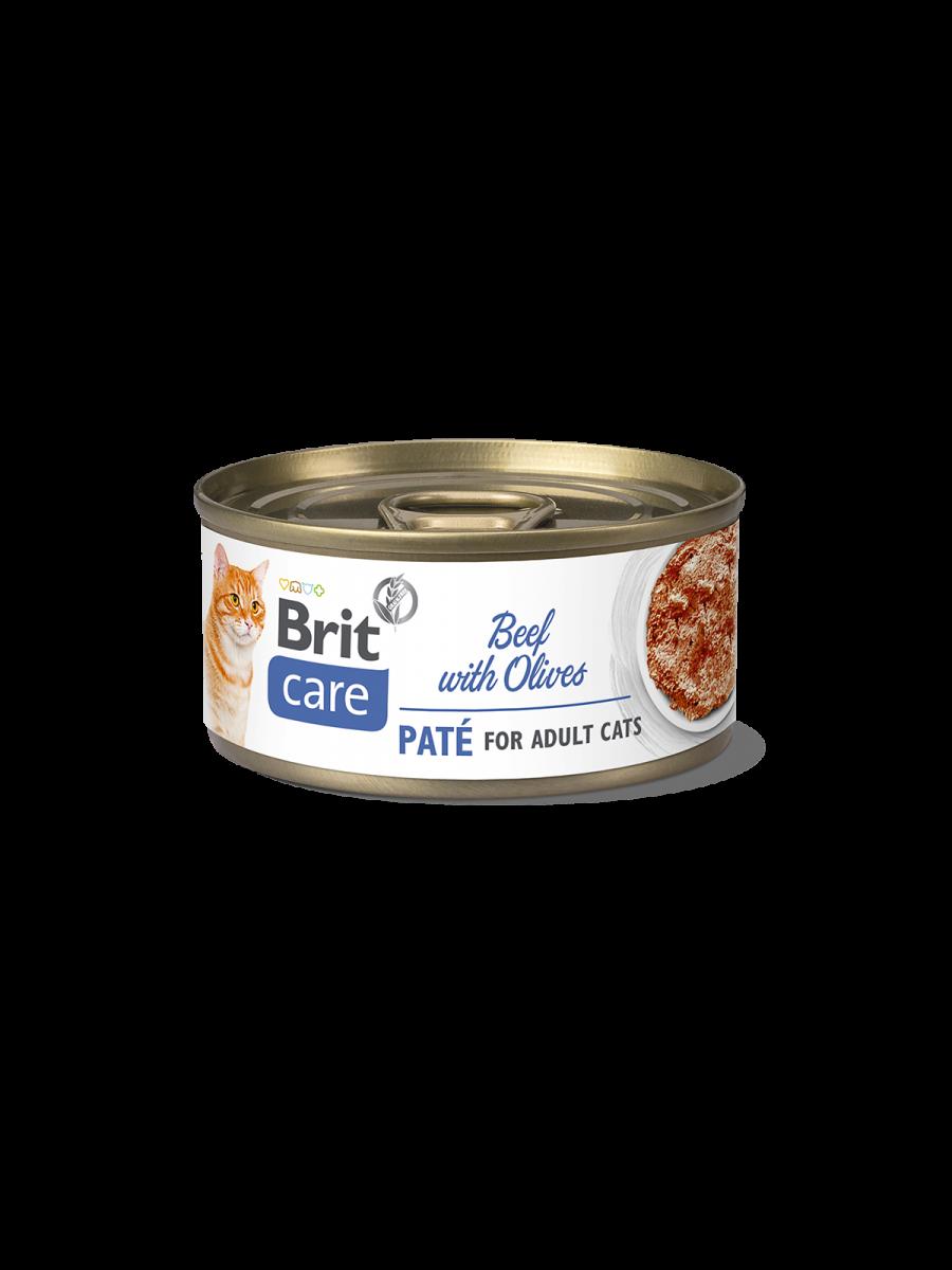 Brit Care Cat STERILIZED. TUNA PATE WITH SHRIMPS - 70 g