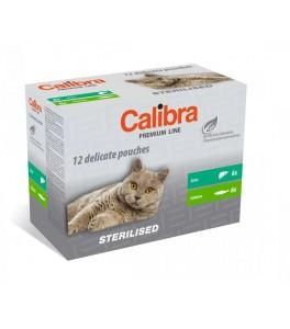 Calibra Cat Adult Sterilizat Multipack 12 plicuri  X 100 g