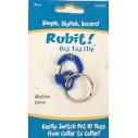 Rubit Dog Tag Clip clasic - carabiniera pentru medalion identificare caini