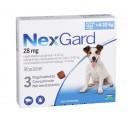 NexGard M - 3 comprimate caini 4-10 kg