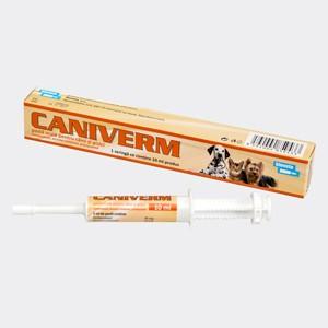 Caniverm pasta orala 4 ml