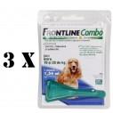 Pachet 3 X Frontline Combo  M (caini 10-20 kg)