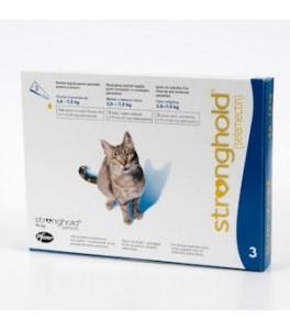 Stronghold 45 mg (3 pipete) - pentru pisici 2,5-7.5 kg