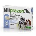 Milprazon caini sub 5 kg - cutie cu 2 cp