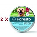 2 X Zgarda Foresto L (70 cm) - pentru caini peste 8 kg
