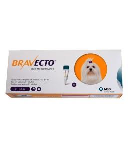 Bravecto spot-on 112.5 mg - Pipeta pentru caini intre 2 - 4.5 kg (1 pipeta)