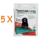 Frontline Combo caini peste 40 kg (XL) - 5 pipete