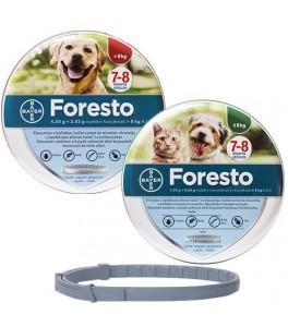 Foresto L + Foresto S - pachet zgarzi antiparazitare