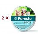 2 X Zgarda Foresto S (38 cm) - pentru caini sub 8 kg si pisici