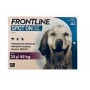 Frontline Spot On caini 20-40 kg (L) - cutie cu 3 pipete