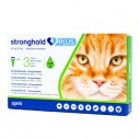 Stronghold Plus 15 mg (pisici 1.25-2.5 kg) - cutie cu 3 pipete