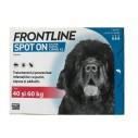 Frontline Spot On caini peste 40 kg (XL) - cutie cu 3 pipete