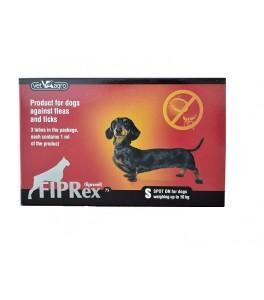 Fiprex Spot On caini 2-10 kg (3 pipete S)