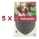 Advantix caini 10-25 kg (Advantix 250) - 5 pipete