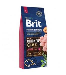 Brit Premium by Nature Junior L - 15 kg