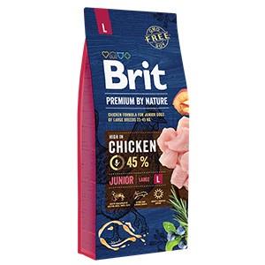 Brit Premium by Nature Junior Large - 15 kg