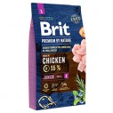 Brit Premium by Nature Junior S - 3 kg