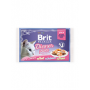 Brit Premium Cat Delicate File Multipack Dinner Plate in aspic - 4 x 85g