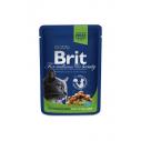 Brit Premium Cat cu pui pentru pisici sterilizate - 100 g