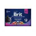 Brit Premium Cat Multipack felii de peste - 4 x 100 g