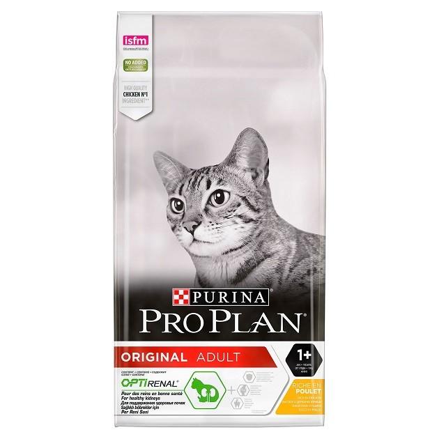 Purina Pro Plan Pisica Original Adult Optirenal cu pui - 1.5 kg