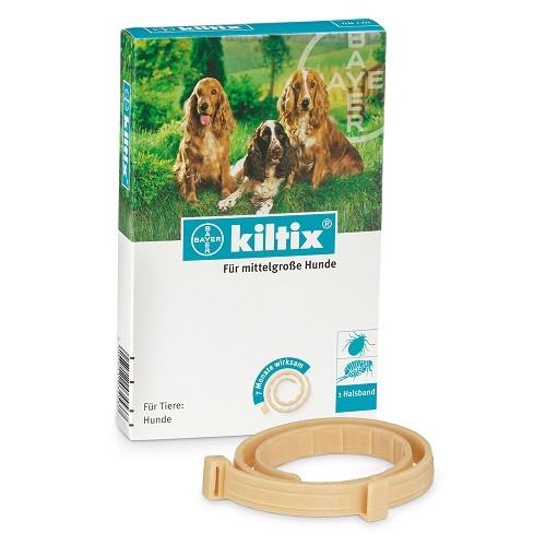 Kiltix M (53 cm) - zgarda antiparazitara pentru caini talie medie