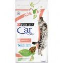 Purina Cat Chow Adult Sensitive cu Somon - 1.5 kg