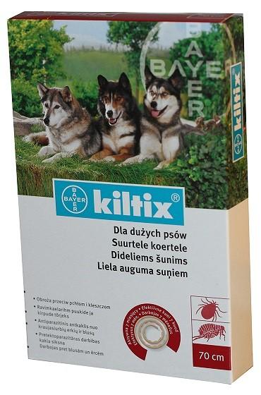 Kiltix L (70 cm) - zgarda antiparazitara pentru caini talie mare