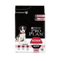 Purina Pro Plan Medium Puppy Sensitive Skin cu somon - 12 kg