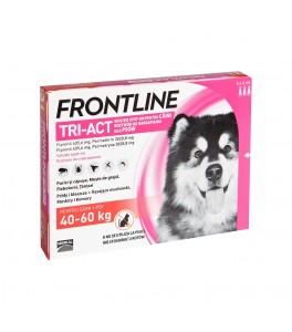 Frontline Tri-Act caini 40-60 kg (3 pipete XL)