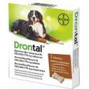 Drontal Plus Flavour 35 kg pentru caini - cutie 2 comprimate