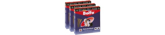 Bolfo zgarda antiparazitara pentru caini si pisici.